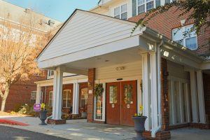 Charter Senior Living of Towson - Front Entrance