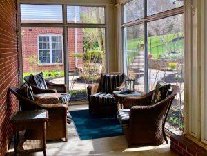 Charter Senior Living of Towson Sunroom